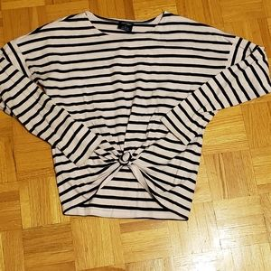 Saint James Oversized Stripe Tee